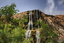 Ma'in Hot Springs - Relaxation Heaven / Jordan does leisure & wellness like no other. Relax at the largest natural spa and lowest point on Earth, or under the warm and curative waters of the Ma'in Hot Springs.