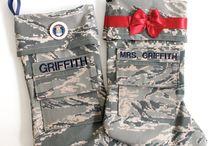 Air Force Christmas / by Missy Traub