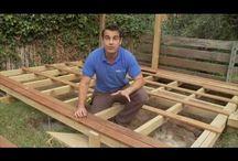 como hacer una terraza