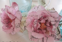 Fantastic Flowers / Come and smell the Roses, the hand made Roses.