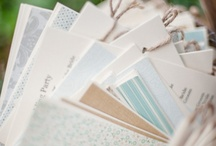 Rustic Wedding Programs / Wedding programs for rustic and country styled weddings.