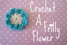 Crochet Flower Tutorials