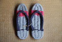Nuno Zori / Handmade Japanese cloth sandals