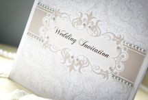 Wedding Stationery - Palace Collection / Our classic handmade Palace collection is printed on high quality extra smooth card and decorated with excellent quality pearls. www.serendipityweddingdesign.co.uk