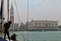 In barca a vela.. a Venezia