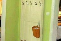 dveře / využití starých dveří