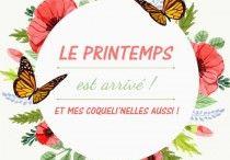 Les Coqueli'nelles / Voici la collection Coqueli'nelles ! Mi coquelicot mi rose, réalisés par Craftinelle !