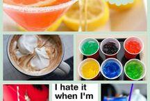 need to sort - food - drinks
