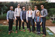 wedding - groom / groomsmen