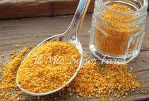 polvere di buccia d'arancia