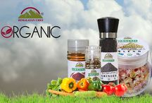Organic Collection / Himalayan chef has a vast collection of organic flavor infused salt in attractive packaging.