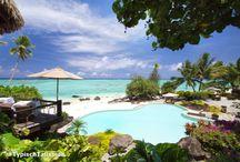 Cook Islands / De Cook eilanden, bestaande uit vijftien exotische eilanden, behoren tot een van de meest paradijselijke bestemmingen ter wereld. De natuurlijke schoonheid van deze deels vulkanische eilanden - met parelwitte stranden, ongerepte groene vegetatie en omringd door een helderblauwe zee - zijn de ingrediënten voor een heerlijke relaxvakantie of honeymoon!