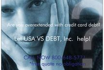 Frequently Asked Questions-Debt Settlement / How will debt settlement affect my credit report? Debt settlement may have a temporary negative effect on your credit report. However, what are you worried about - your credit report or your debt? As a result, debt settlement is a preferred alternative to bankruptcy.  Is debt settlement the same as debt consolidation? No. For information about how long it will take for our debt settlement program to resolve your debt CALL 1-800-648-5771 TODAY. Visit: www.USAvsDEBT.com