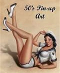 Pin Up Girl Art