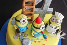 Boys cakes ,