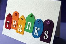 Thank you cards / Thank you cards