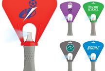 Custom Spray Fans / Cool off with these portable fans. Perfect for promotional giveaways during the summer heat!
