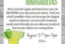 spa facials treatment promo idea's & more...