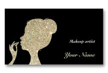 Make up artist business cards