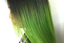 Green Hair Ideas & Styles / Green hair color styles and ideas from salons, hair stylists and beauty professionals who use Vagaro to manage their business. Green color fantasy hair can be forest green, neon, emerald, aqua, teal, Kelly, lime green, turquoise, olive green, light green or dark green.