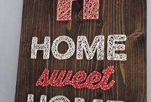 home sweet home wall art