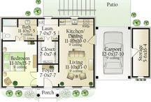 Lovely small house plans / by Stephanie Black