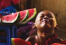 cores e melancia