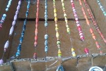 Bead Drying Racks / Different types of drying racks that can be used for drying any type of bead that has been glazed.