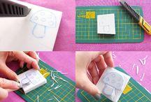 Crafts:  DIY Stamps & Moulds