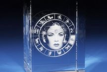 What's Your Sign? / Libra is all about balance, while the Taurus represents strength. What is your zodiac sign? Find it at www.3Dlasergifts.com.