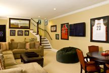 Basement Den / by Allana Richmond