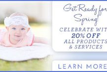 Spring Sale 2014 and More Sleep for Mom Sale