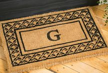 Outside Door Mats / Outdoor door mats to wipe your shoes.