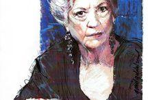 Portraits Drawings of Celebraties / Portraits of people Guldenhemel never has met until now!