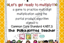 Partial products multiplication / by Lirea Turner