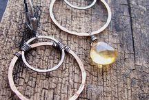 Citrine Gemstone Beads and Handmade Citrine Jewelry / Citrine Gemstone Beads and Handmade Citrine Jewelry