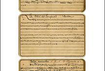 Printable Sheet Music / by Kristi Kunselman