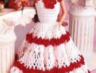 Haken - Barbie kleding enz.