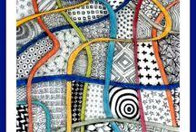 Zentangle, Doodle und Co