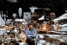 Star Wars: Behind the Scenes / Behind the scenes shots.