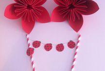 Ladybug / Ladybug cake decoration