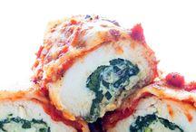 Stuffed Chicken Rolls