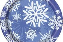 Winter Wonderland Party Ideas / What's better than a cozy and festive Winter Wonderland theme party. We have searched the boards for the coolest winter theme party ideas, with snowflakes and more! We have added a few of our own favorite products too!