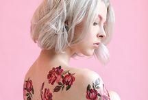mulheres tatuadas / Tatuagem para mulheres de personalidade!