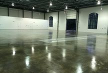Concrete Waterproofing / Waterproofing concrete floors for industrial and commercial facilities,