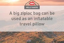 #HellyHacks / Tricks and tips to make everything better.  Information that will improve the quality of your next outdoor experience and solve common problems  on the oceans and in the mountains.