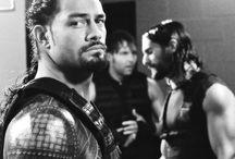 Seth Rollins Dean Ambrose & Roman Reigns / WWE