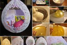Easter crafts and decorations