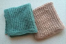Knitting: Dishcloths, Towels
