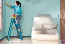 Home Painting DIY Ideas / Learn professional painters' tips and tricks. Find out the best ways to prepare your walls. Find the best colors for any and all of your home's walls and exterior. Repin the best ideas to your boards now so you'll have them when you start to paint. / by Don @ Today's Plans